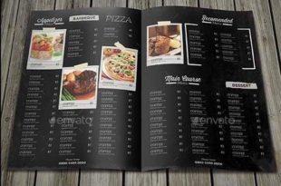 mẫu menu đẹp